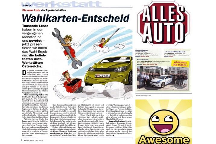 Artikel ALLES AUTO
